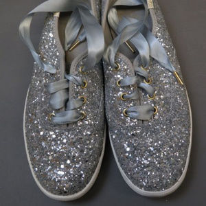 Keds X Kate Spade York Champion Glitter Sneakers
